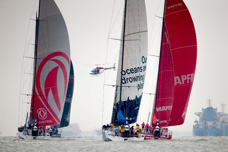 Volvo Ocean Race Guangzhou Stopover. 05 February - photo © Pedro Martinez / Volvo Ocean Race