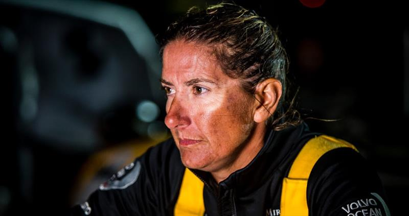 Volvo Ocean Race - Leg 6 - Dee Caffari's Turn the Tide on Plastic photo copyright Volvo Ocean Race taken at  and featuring the Volvo 70 class