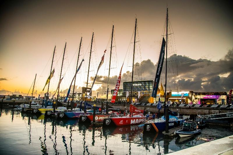 The Ocean Race fleet 2017-18 - photo © Jesus Renedo / Volvo Ocean Race