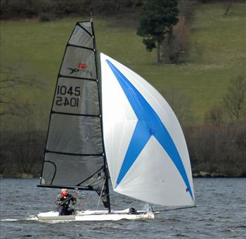 Vortex Midlands / Welsh Grand Prix during the Bala Easter Regatta