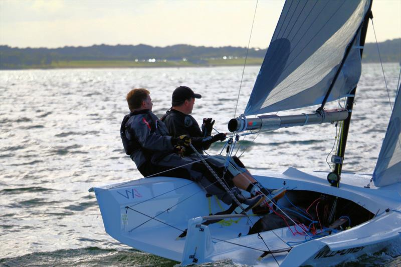 VX One UK Nationals at the Royal Forth Yacht Club - photo © Maria Walker