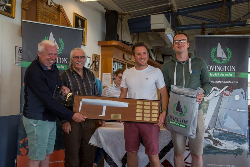David Chandler, Charlie Chandler & Rick Boyce win the VX One Nationals at Sunderland - photo © Tim Olin / www.olinphoto.co.uk