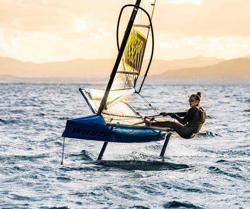 Spanish SailGP training - photo © WASZP class