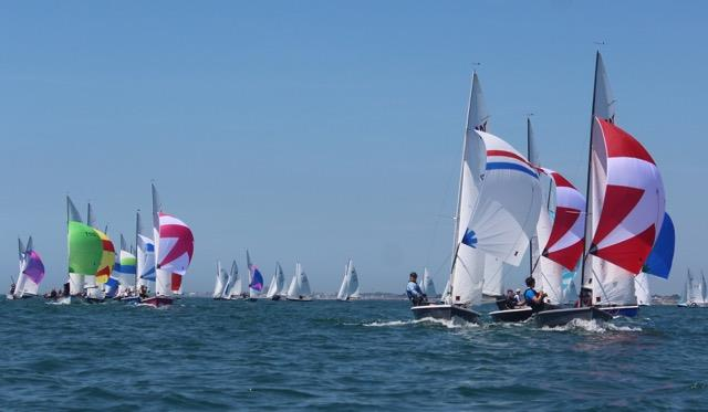Wayfarer National Championship at Arun - photo © Sue Blessett