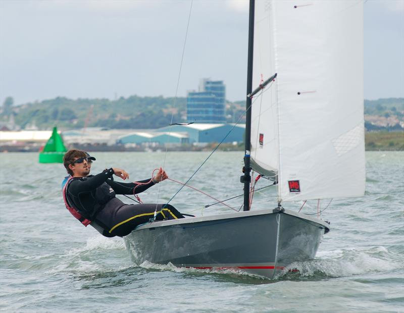 Andrew and Tom Wilson win the Wayfarer Eastern Area Championship at Medway - photo © Nick Champion / www.championmarinephotography.co.uk