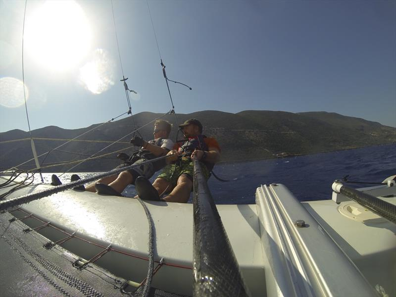 Tornado sailing at Vassiliki - photo © Wildwind