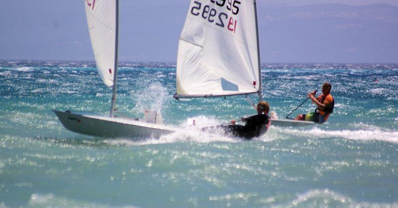 Laser slalom racing at the Vassiliki Watersports Festival - photo © Wildwind