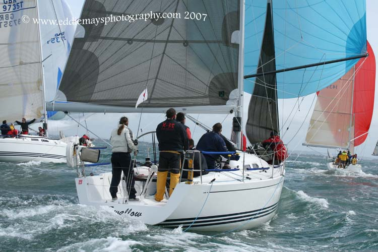 The X-Yachts Gold Cup takes place in the Solent