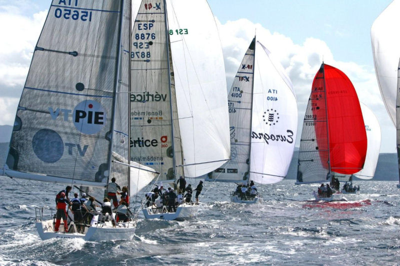 The day of racing at the X-41 World Championship, organised by Italian Yacht ...