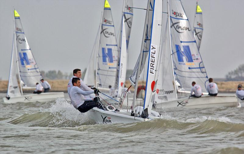 Endeavour Trophy at Burnham photo copyright Tania & Sergei Samus / www.photoskiff.com taken at Royal Corinthian Yacht Club and featuring the Topaz Xenon class