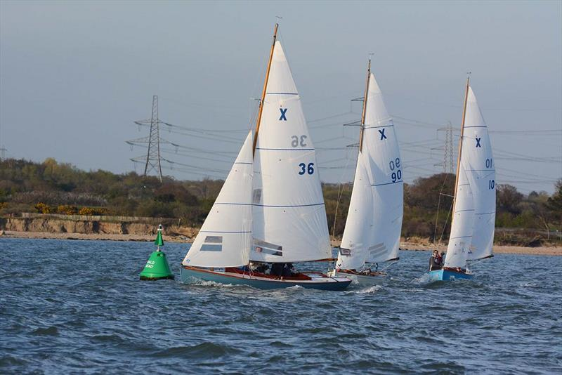 XOD start on day 2 of the Hamble River Early Bird Series  - photo © Trevor Pountain