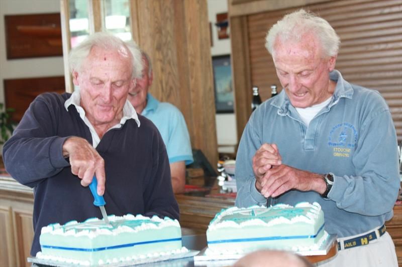 Stuart & Ado Jardine at their surprise 80th Birthday Party