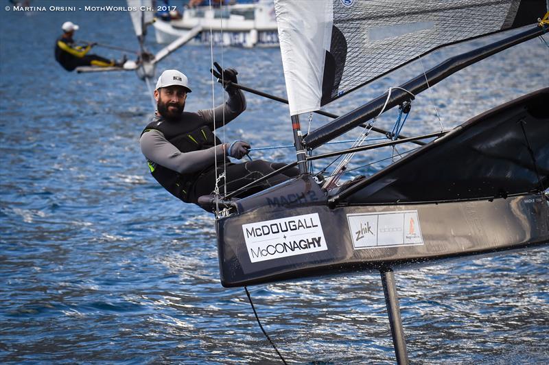 Hands up - who is wearing the Zhik Boot 460? Nicola DeCarli! - photo © Martina Orsini