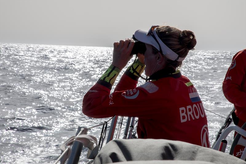 Zhik clothing put through its paces during the Volvo Ocean Race - photo © Rich Edwards / Volvo Ocean Race