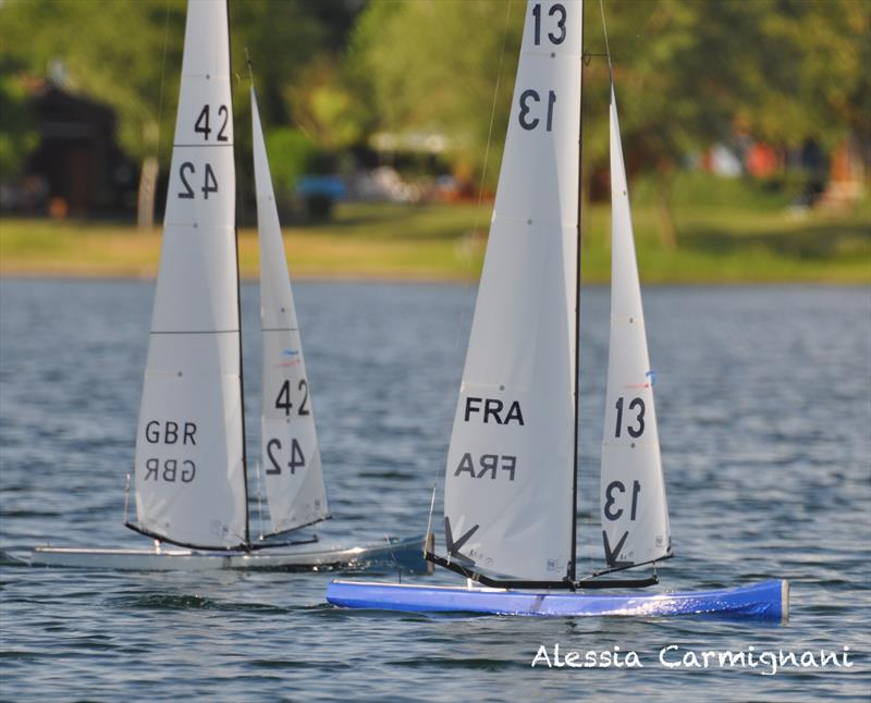IRSA World Championship Radio Sailing 2018 photo copyright Alessia Carmignani taken at Segelverein Biblis e. V. and featuring the 10 Rater class