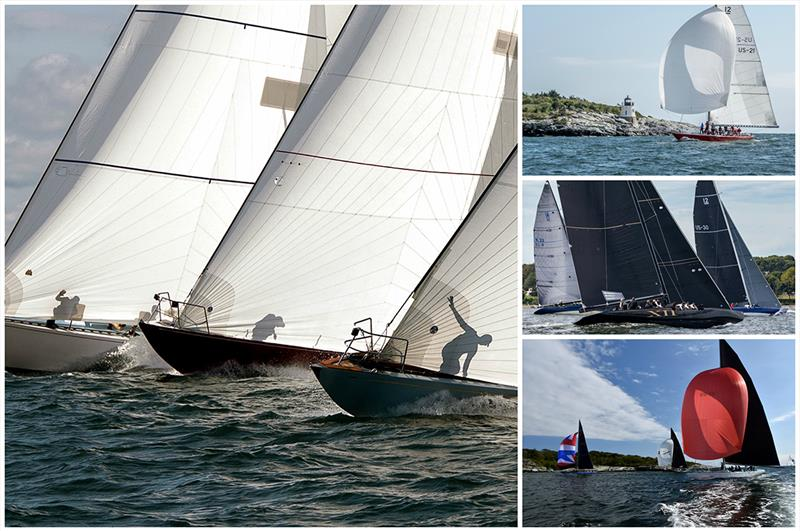 The 2019 12 Metre North American Championship was hosted by Ida Lewis Yacht Club in Newport, R.I., where the 2019 12 Metre World Championship is scheduled to take place. - photo © Clockwise (L): George Bekris, Nancy Bloom, Stephen Cloutier, SallyAnne Santos