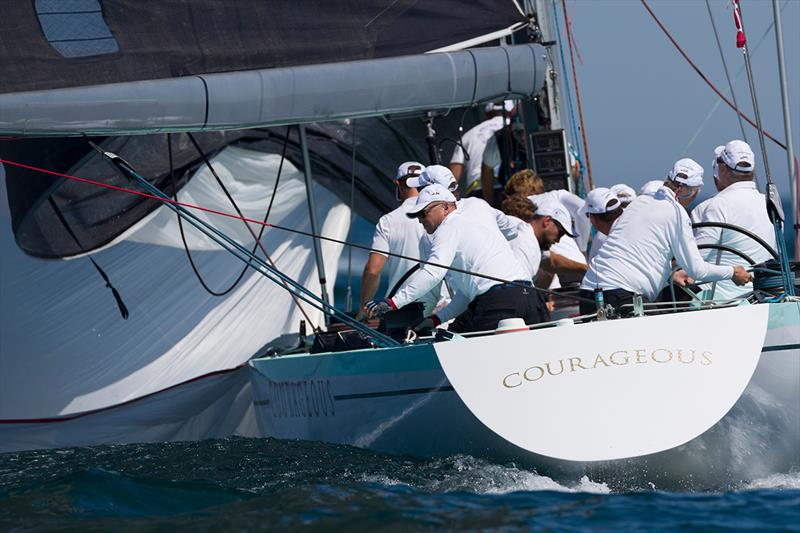 Courageous (US-26) at the 12 Metre World Championship - photo © Ian Roman