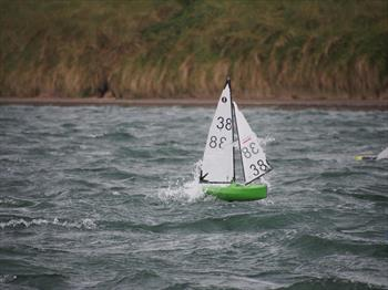 British Vane A Class Championships At Fleetwood Model Yacht Club Day 2