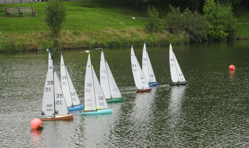 Scottish District IOM Travellers at Paisley Model Yacht Club