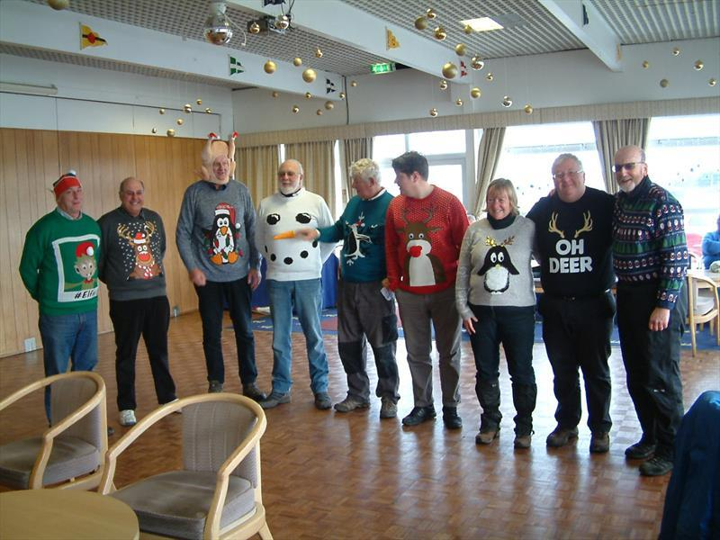 Christmas jumpers for the IOM racing at Fleetwood - photo © Tony Wilson