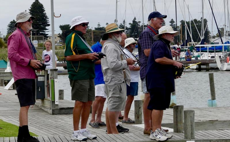 Day 3 – Banter aplenty on the radio yacht shore – Goolwa Regatta Week - photo © Chris Caffin