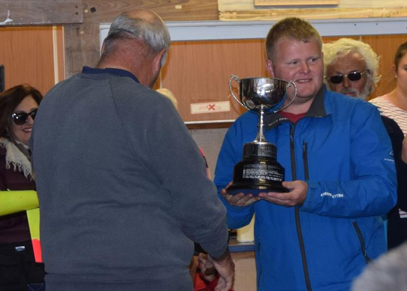 Rob Walsh wins the International One Metre UK National Championship 2018 photo copyright GBR IOM Class taken at Fleetwood Model Yacht Club and featuring the One Metre class