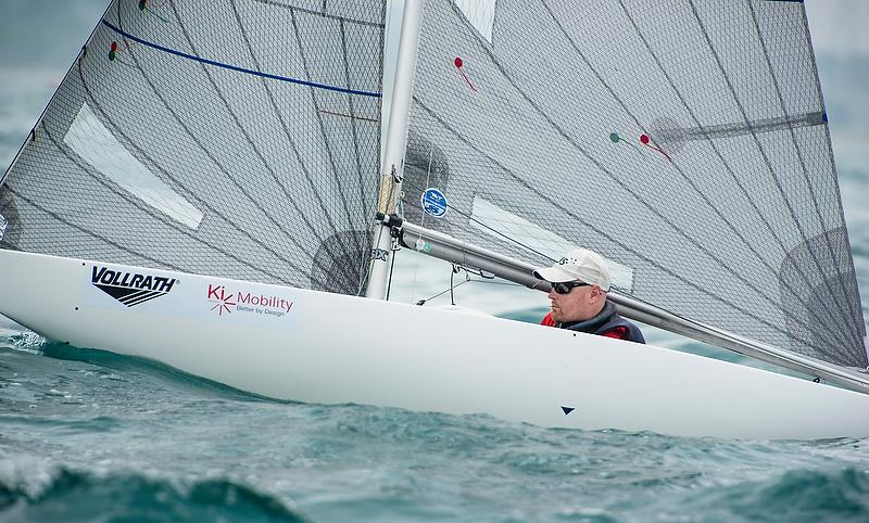 Matt Bugg (AUS) - 2.4mtr - Day 3 - Para Sailing World Championship, Sheboygan, Wisconsin, USA.  - photo © Cate Brown