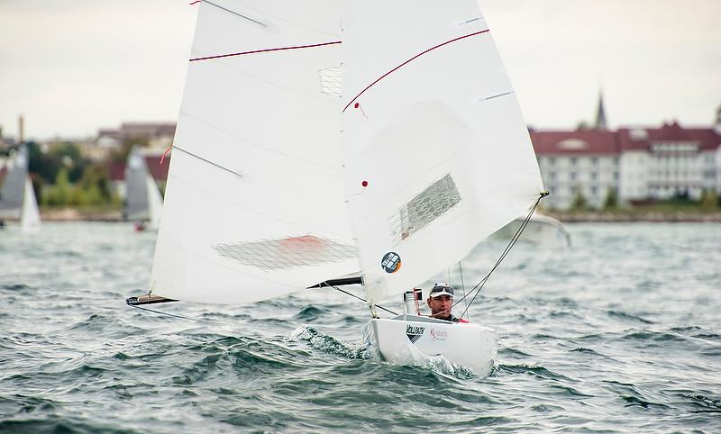 Damien Seguin (FRA) - 2.4m - Day 3 - Para Sailing World Championship, Sheboygan, Wisconsin, USA.  - photo © Cate Brown