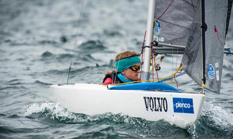 Georgina Griffin (IRL)  - Norlin 2.4OD - Para Sailing World Championship, Sheboygan, Wisconsin, USA.  - photo © Cate Brown