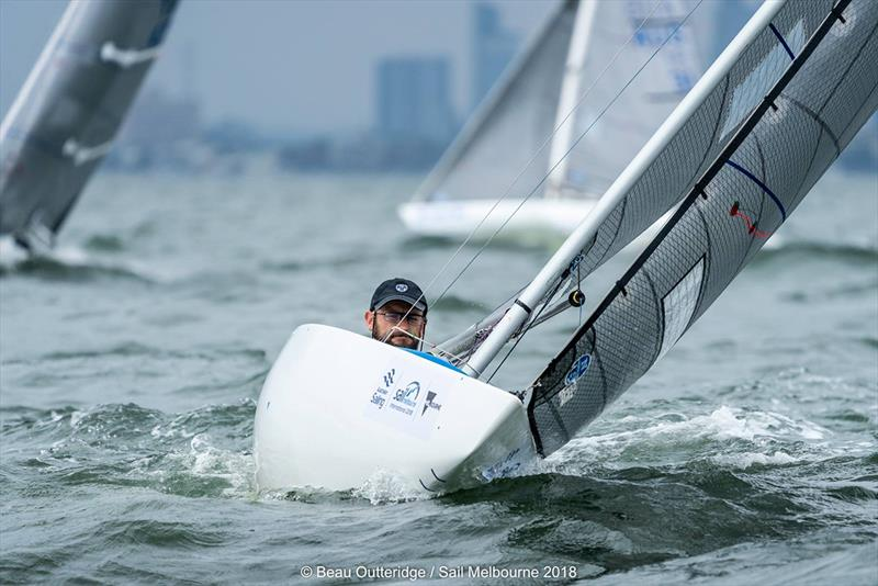 Neil Patterson winner in the 2.4m - 2018 Australian Para Sailing Championships - photo © Beau Outteridge