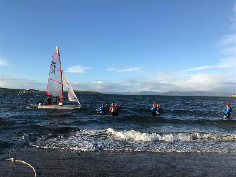 RYA Scotland Winter Championship at Largs - photo © Simon McIlwaine