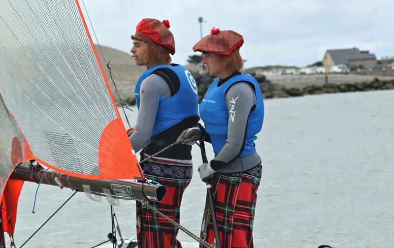 Fancy dress champions during the NeilPryde Sailing UK 29er Nationals at Pwllheli - photo © Wavelength Image