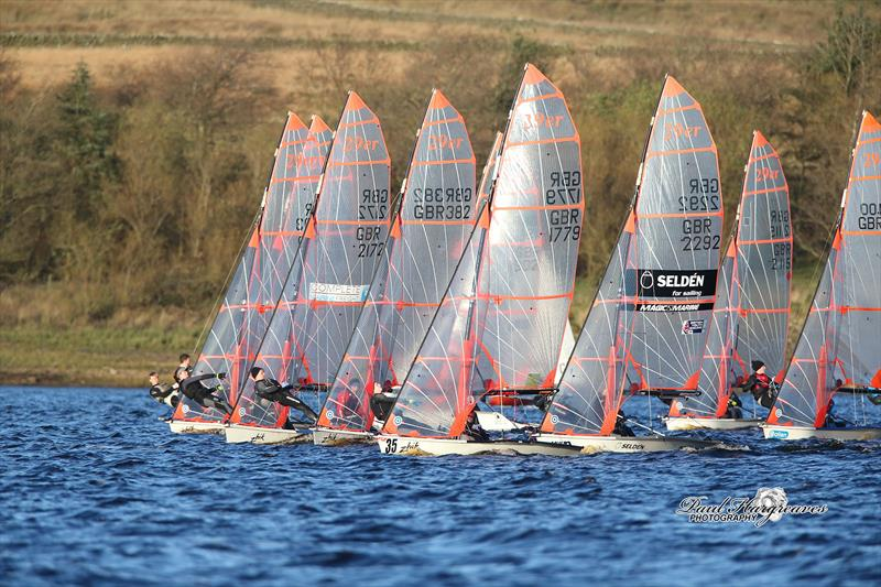 The RYA North East Youth Championships photo copyright Paul Hargreaves taken at Yorkshire Dales Sailing Club and featuring the 29er class