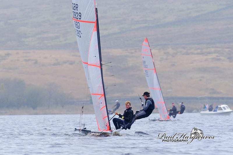 RYA North East Youth Championships at Yorkshire Dales photo copyright Paul Hargreaves Photography taken at Yorkshire Dales Sailing Club and featuring the 29er class