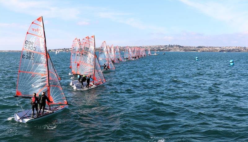 29er Ovington Championship 2019 at the WPNSA - photo © 29er UK