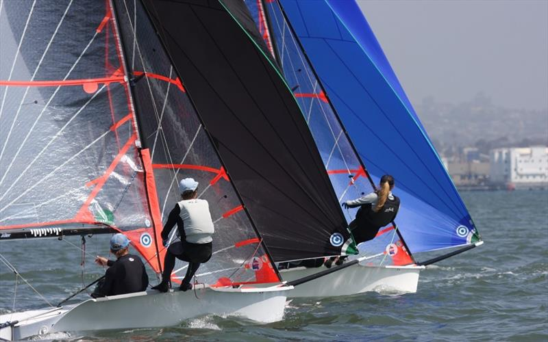 The 29er skiff is one of exciting performance development classes being offered a start at the Pensacola Yacht Club's Junior Olympic Sailing Festival June 28-30. - photo © Zim Sailing