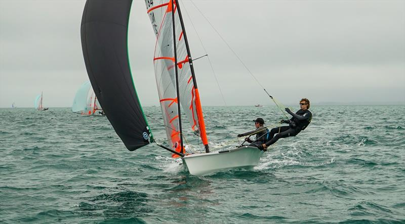 New Zealander Matthias Coutts competing in the silver fleet - 2020 Australian 29er Nationals - photo © Jordan Roberts