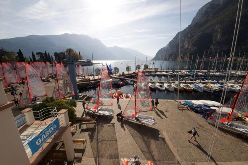 29er EuroCup 2020, day 1 photo copyright Elena Giolai taken at Fraglia Vela Riva and featuring the 29er class