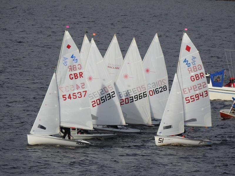 RYA NE Youth Championships at Yorkshire Dales photo copyright Mike Cattermole taken at Yorkshire Dales Sailing Club and featuring the 420 class
