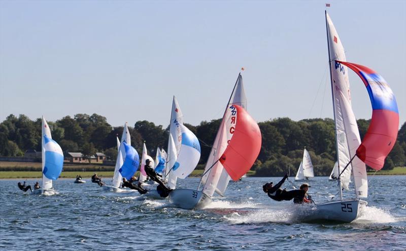 Rooster 420 Autumn Championship at Rutland Sailing Club