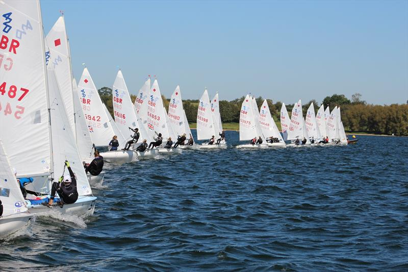420 Autumn Championship at  photo copyright Jonny McGovern taken at Rutland Sailing Club and featuring the 420 class