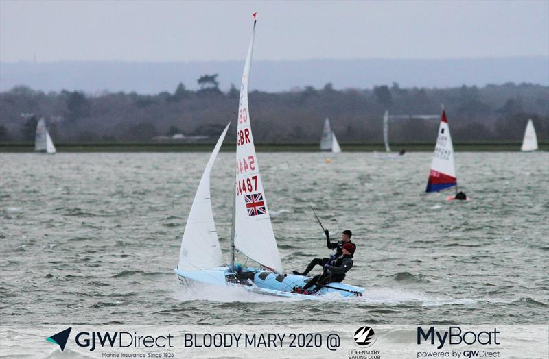 Dylan McPherson & Jack Lewis win the 46th GJW Direct Bloody Mary - photo © Mark Jardine / YachtsandYachting.com