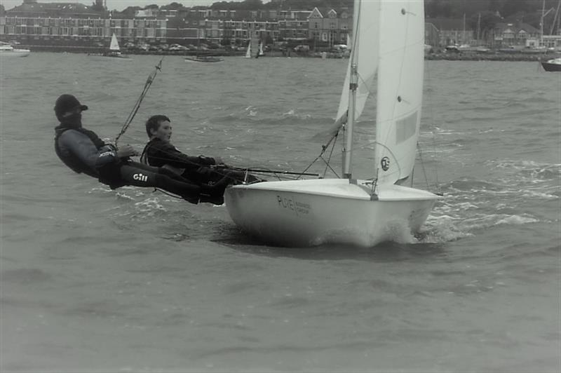 George Creasy and David Bromilow during the West Kirby Sailing Club Season Opener on the Dee Estuary - photo © Trevor Jenkins