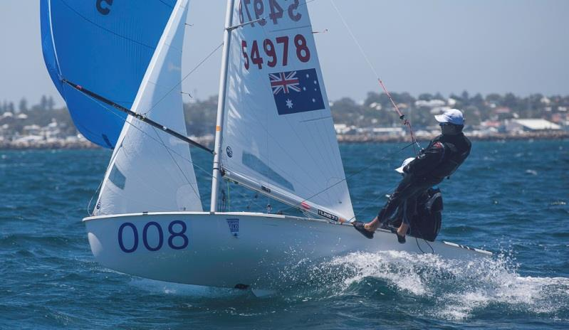 Final Day – 420 World Championship photo copyright Bernie Kaaks taken at Fremantle Sailing Club and featuring the 420 class