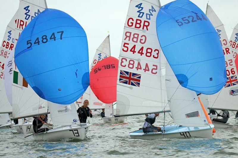 420 Nationals at Brightlingsea photo copyright William Stacey taken at Brightlingsea Sailing Club and featuring the 420 class