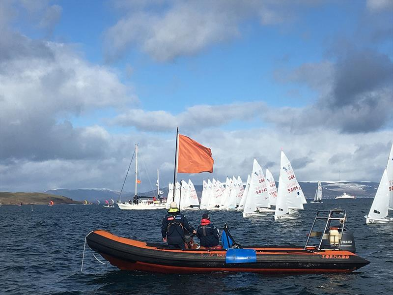 IPV Code Part 2 - Race Support Boats photo copyright Loretta Spridgeon taken at Royal Yachting Association and featuring the 420 class