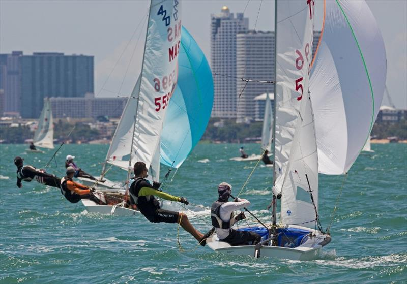 It was all go on the dinghy course today, Day 3, Top of the Gulf Regatta. - photo © Guy Nowell / Top of the Gulf Regatta
