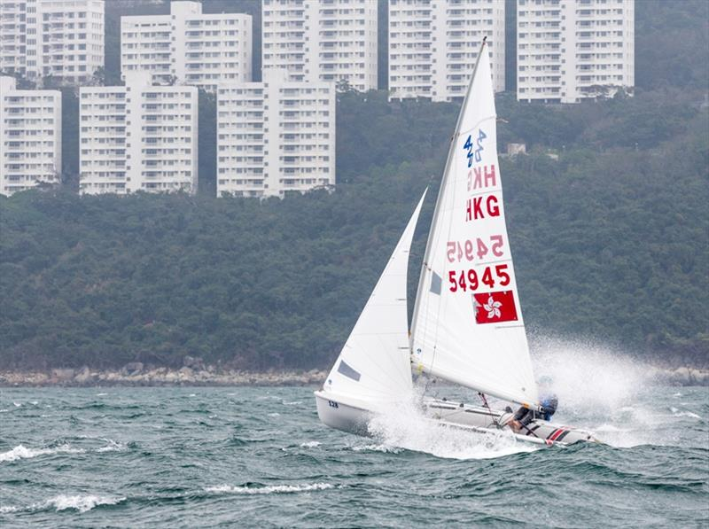 Hong Kong Race Week 2019 photo copyright Guy Nowell / RHKYC taken at Royal Hong Kong Yacht Club and featuring the 420 class