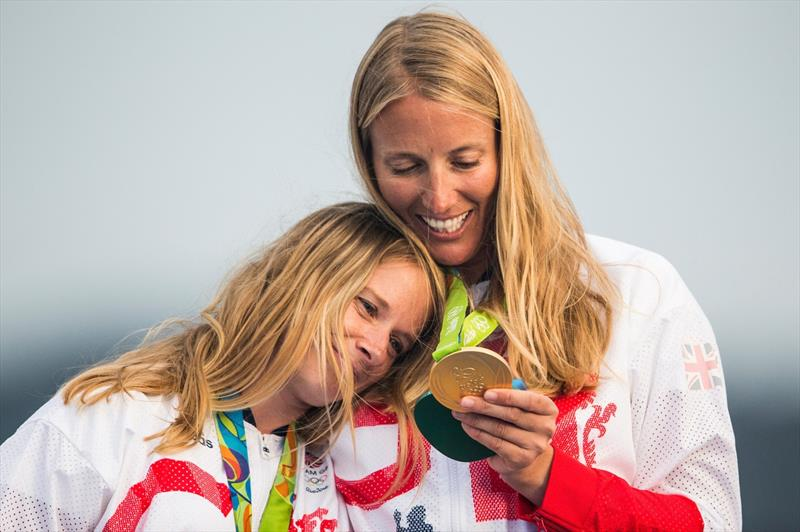 fd7422abd661 Hannah Mills and Saskia Clark  An emotional journey from London 2012 silver  to Rio 2016 gold