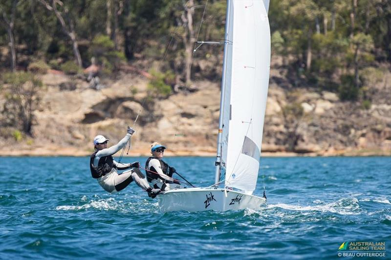 The Sailor Girl at the 2017 Australian 470 Nationals - photo © Beau Outteridge